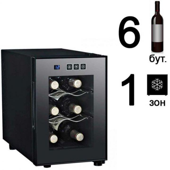 Винный шкаф Dunavox DAT-6.16C
