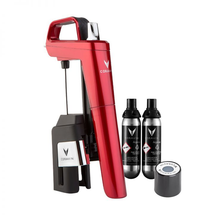 Coravin Model Six Core Candy Apple Red