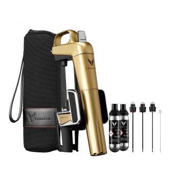 Набор Coravin Model Two Elite Plus Pack Gold