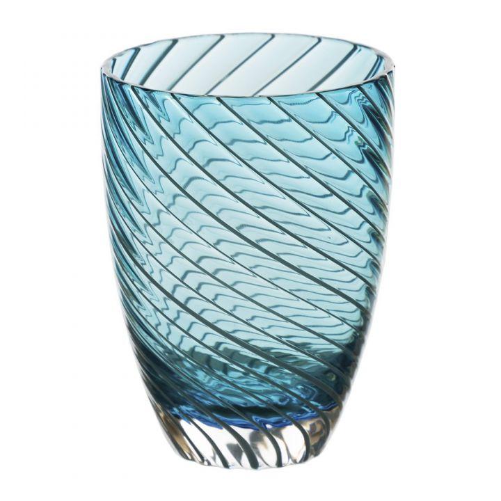 Стакан сервировочный Italesse Vertigo Tumbler Blue
