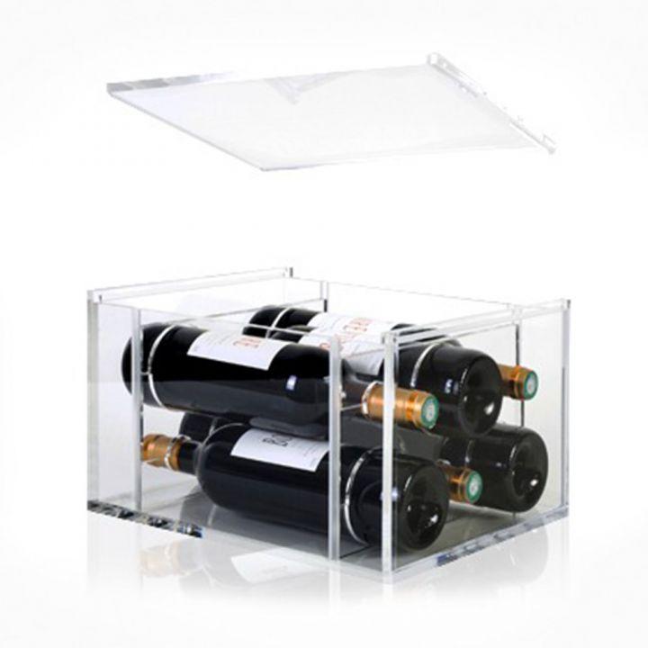 Упаковка для вина из прозрачного акрила Italesse Aria